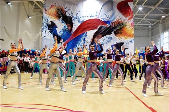 В Чебоксарах проходят Всероссийские соревнования по фитнес-аэробике
