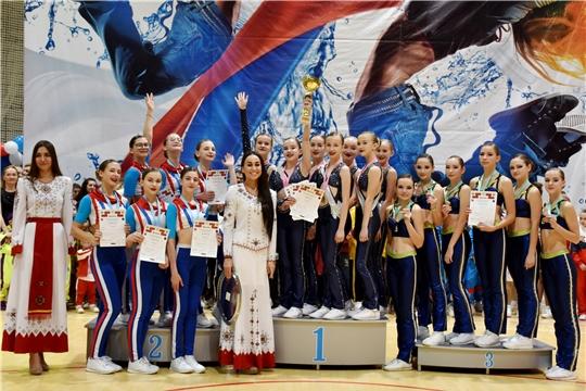 Более 1300 спортсменов выступили на Всероссийских соревнованиях по фитнес-аэробике