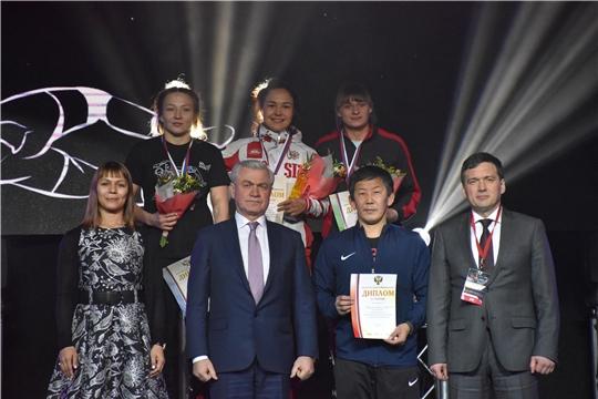 В столице Чувашии завершился открытый Кубок России по вольной борьбе среди женщин на призы М.В. Игнатьева