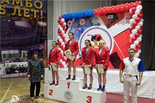 Представительницы Чувашии отличились на Кубке России по самбо