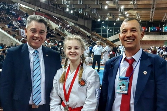 Спортсмены Чувашии достойно выступили на чемпионате и первенстве мира по всестилевому каратэ