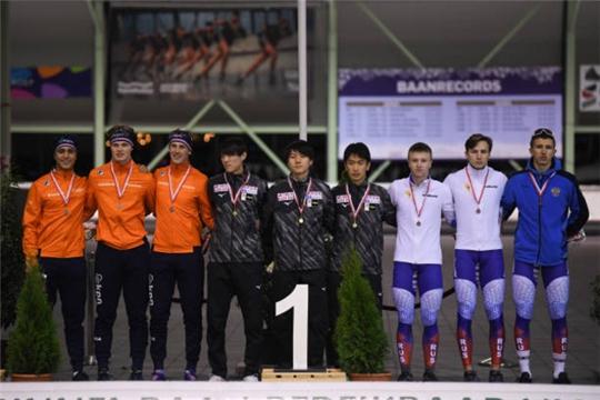 Конькобежец из Чувашии Тимур Карамов стал призёром второго этапа Кубка мира