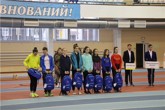 Восемь юных легкоатлетов Чувашии стали лауреатами всероссйиского проекта «1000 талантов»