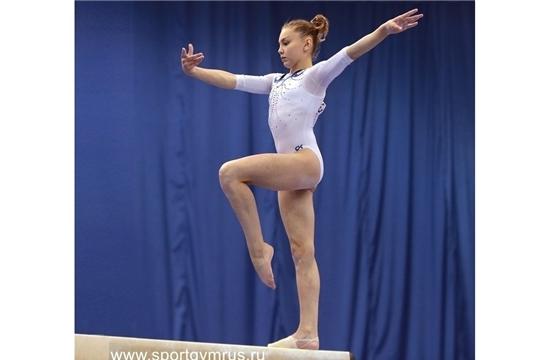 Елена Герасимова выиграла «золото» и «бронзу» на международном турнире «Тоp Gym» по спортивной гимнастике