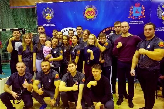 Армрестлеры Чувашии достойно выступили на чемпионате и первенстве Поволжья