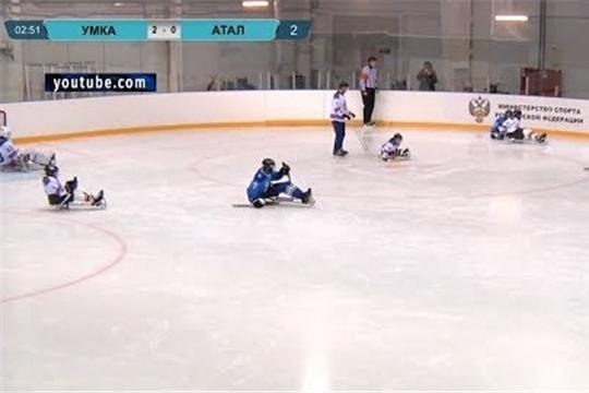 Детская следж-хоккейная команда «Атал» вернулась в Чувашию с серебряным кубком