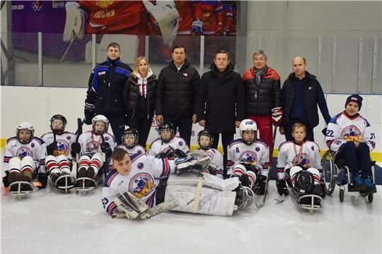 Детская следж-хоккейная команда «Атӑл» успешно выступила на всероссийских соревнованиях