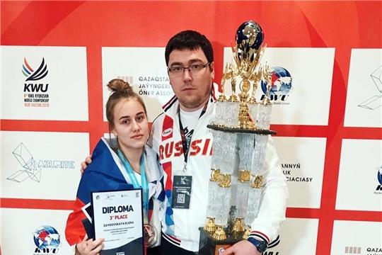 Елена Зайковская выиграла «бронзу» чемпионата мира по киокусинкай