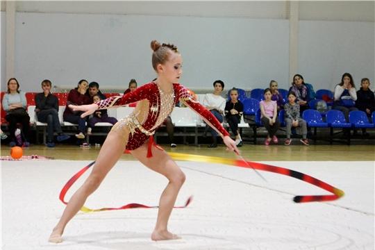 Чемпионат и первенство Чувашии по художественной гимнастике определили сильнейших