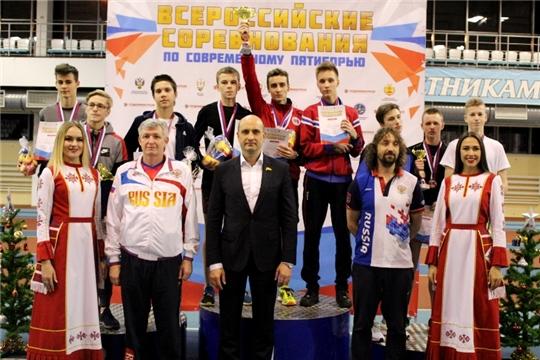 В Новочебоксарске разыграны медали Всероссийских соревнований по троеборью