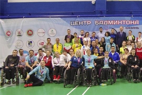 Парабадминтонисты Чувашии вернулись с медалями финального этапа Кубка России