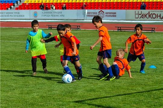 Республиканская спортивная школа по футболу получила статус детского футбольного центра