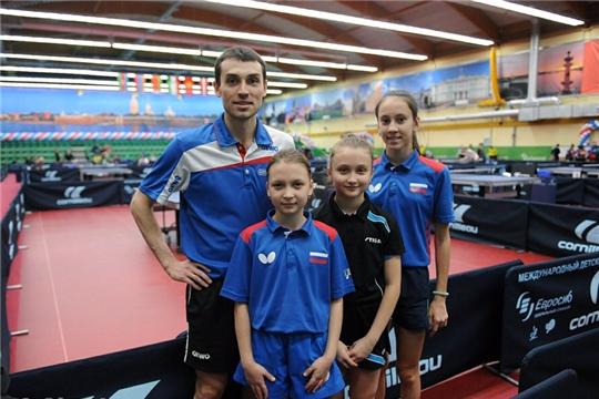 В Чебоксарах разыграны награды 2-го тура командного чемпионата ФНТР среди женских команд Суперлиги