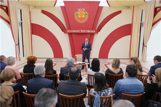 Глава Чувашии Михаил Игнатьев встретился с представителями средств массовой информации республики