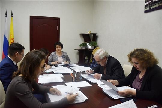 Заседание коллегии Государственной службы Чувашской Республики по конкурентной политике и тарифам