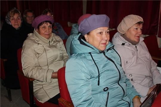 Состоялся праздничный концерт, посвященный Международномудню пожилых людей