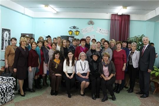 В Урмарской школе  для стажировки педагогов открыта Республиканская методическая площадка # УРМСОШ.RU