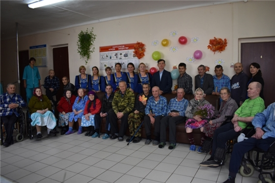 Выездной концерт ко Дню пожилых