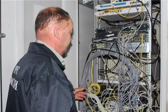 На территории Урмарского района проведена проверка связи и оповещения