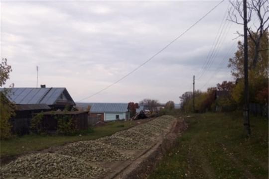 Ремонт грунтовых дорог в Кульгешском сельском поселении
