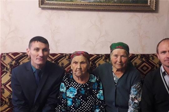 Свой 90-летний юбилей отметила жительница д. Новое Исаково, труженица тыла, ветеран труда Валентина Краснова