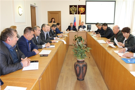 Состоялось сорок первое заседание Урмарского районного Собрания депутатов 6 созыва