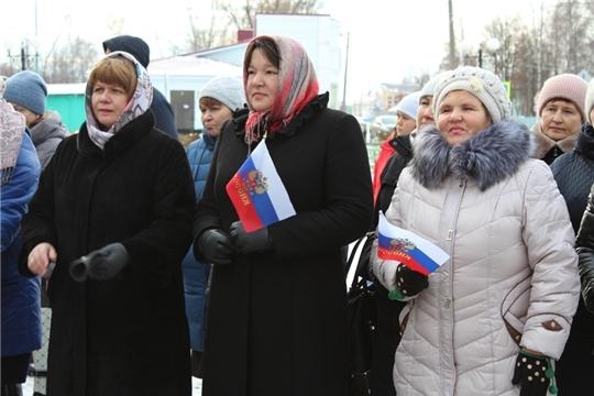 В Урмарском районе отметили День народного единства