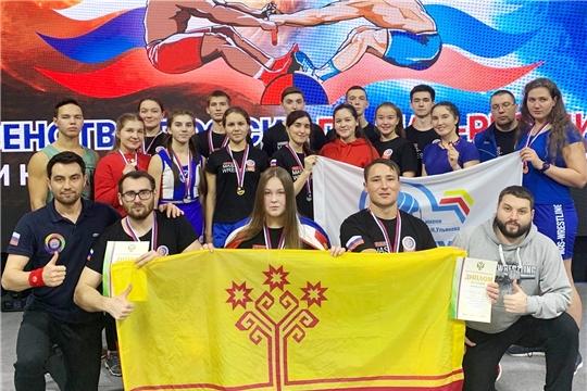 Урмарцы - победители и призеры первенства России по мас-рестлингу