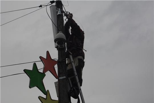 Возле районной поликлиники установлена дополнительная видеокамера наблюдения