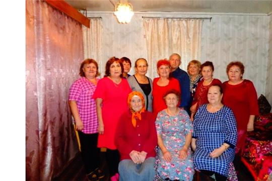 Жительница д. Арабоси В.И. Васильева отметила 80-летний юбилей