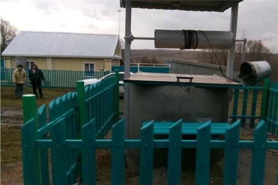 Новый колодец в Буинске – украшение всей деревни