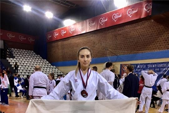 Л. Григорьева успешно выступила на 13 Чемпионате Мира по каратэ WKC среди взрослых