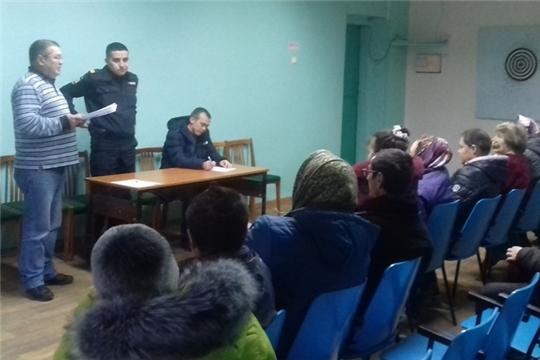 Сход граждан в селе Челкасы