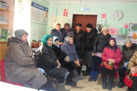 Собрание в д.Старые Щелканы