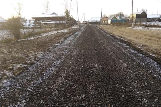 Строительство дорог, тротуаров и моста через реку Клезирмы в деревне Тегешево с суммой 14 680 580 рублей будет возобновлено в Новом 2020 году