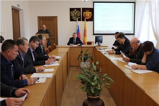 Состоялось сорок второе  заседание Урмарского районного Собрания депутатов 6 созыва