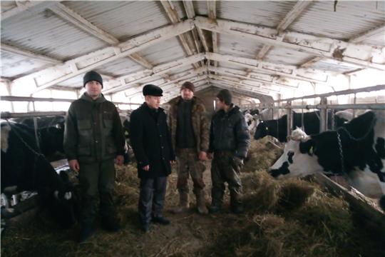 Ознакомление с деятельностью КФХ Михайлова А.В. и Михайлова С.В., расположенных в л. Арабоси