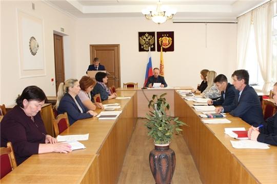 Состоялось очередное заседание антинаркотической комиссии в Урмарском районе
