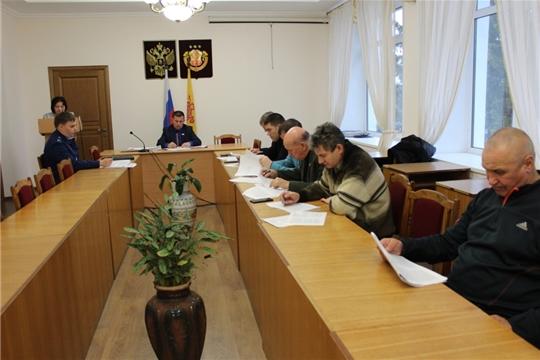 Заседание постоянных комиссий Урмарского районного Собрания депутатов