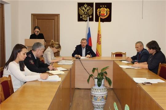 Состоялось заседание Совета по противодействию коррупции Урмарского района