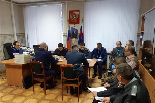 На координационном совещании руководителей правоохранительных органов Урмарского района обсуждены результаты работы по выявлению преступлений и правонарушений в сфере охраны окружающей среды