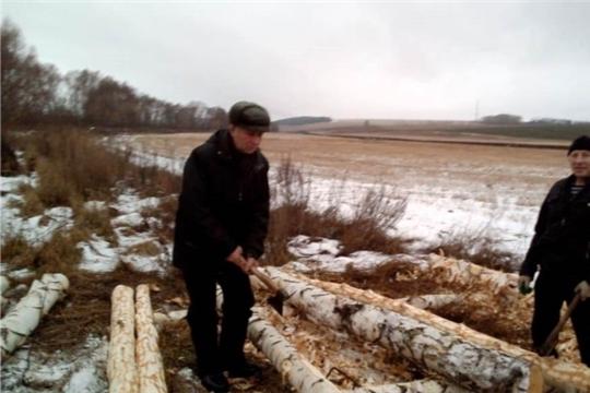 Ремонтируется «МОСТ ДРУЖБЫ» на реке Сугутка между деревней Козыльяры и селом Шигали