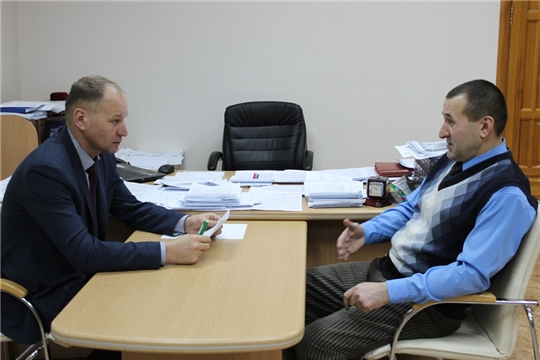 В Урмарском районе проходит Общероссийский день приема граждан