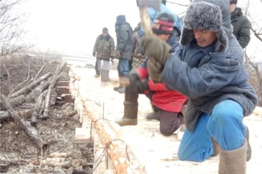 Вот мост почти и готов: завершается ремонт «МОСТА ДРУЖБЫ» на реке Сугутка между деревней Козыльяры и селом Шигали