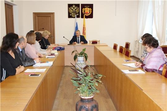 Заседание Комиссии по проведению Всероссийской переписи населения 2020 года на территории Урмарского района