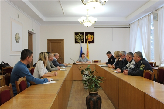 Очередное заседание комиссии по безопасности дорожного движения в Урмарском районе