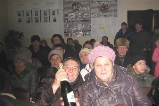 Вот и куранты пробили двенадцать и мы все уже оказались в 2020 году… В завершающую ночь уходящего 2019 года сельчане и гости собрались в Тегешевском сельском Доме культуры, чтобы весело и достойно встретить Новый 2020 год