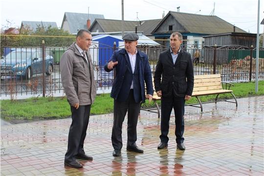 Шемуршинский район с рабочим визитом посетил руководитель Госветслужбы Чувашии Сергей Скворцов