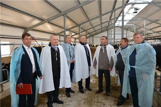 В КФХ Фадеева А.Н. открылась современная животноводческая ферма