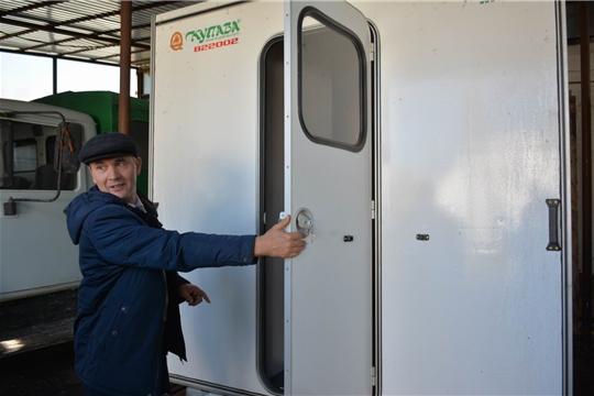 В Вурнарском районе с рабочим визитом побывал руководитель Госветслужбы Чувашии Сергей Скворцов
